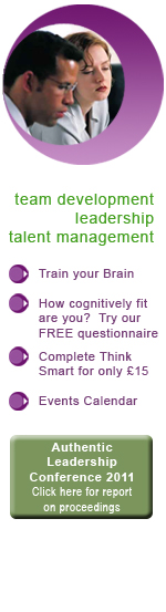 Cognitive Fitness - leadership, team development, coaching and talent management